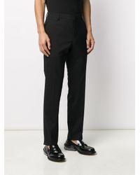 メンズ Prada テーラード ストレートパンツ Black