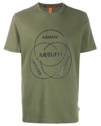 メンズ Raeburn ロゴ Tシャツ Green