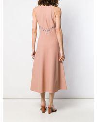 Stella McCartney レーストリム ドレス Pink
