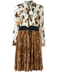 Fausto Puglisi - Multicolor Multi Print Dress - Lyst