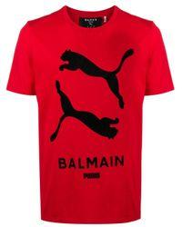 Camiseta de x Puma Balmain de color Red