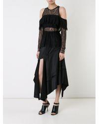 Manning Cartell - Black 'liquid Lines' Skirt - Lyst
