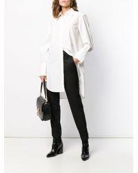 Удлиненная Рубашка Chloé, цвет: White