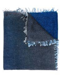 Écharpe à effet dégradé Faliero Sarti en coloris Blue