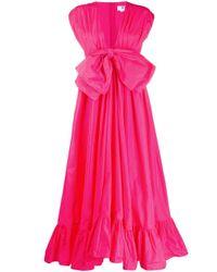 MSGM リボン ドレス Pink