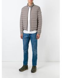 Moncler Brown Delabost Padded Jacket for men