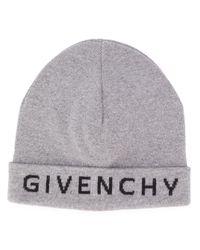 Givenchy Muts Met Logo in het Gray voor heren