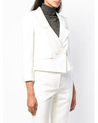 Givenchy White Double Breasted Jacket