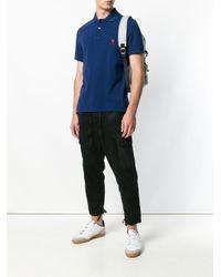 メンズ AMI Ami De Coeur ポロシャツ Blue