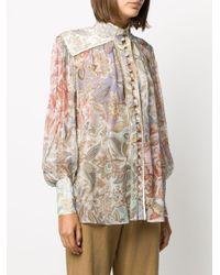 Zimmermann Lucky ペイズリー シャツ Multicolor
