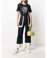 Societe Anonyme Black T-Shirt mit grafischem Print