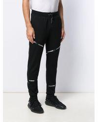 Philipp Plein Jogginghose mit Logo-Streifen in Black für Herren