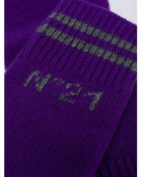 Guantes largos N°21 de color Purple