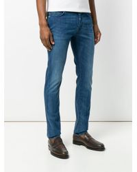 Jacob Cohen Blue Faded Straight Leg Jeans for men