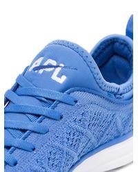 Sneakers Techloom Phantom di APL Shoes in Blue