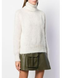 Gianluca Capannolo White Textured Sweater