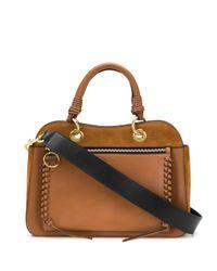 See By Chloé Brown 'Tilda' Handtasche mit Ziernaht