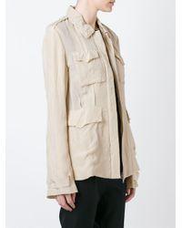 Yang Li - Natural Lightweight Military Jacket - Lyst