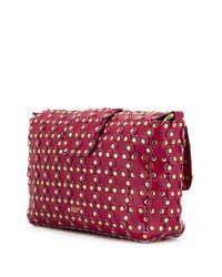 Bolso de hombro Flower Puzzle RED(V) RED Valentino de color Pink