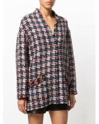 Isabel Marant Multicolor Tweed Embroidered Blazer