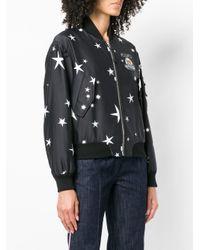 Moschino Black Teddy Star Bomber Jacket