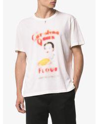"""Our Legacy T-Shirt mit """"Flour""""-Print in Multicolor für Herren"""