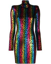 Vestido con motivo de arcoíris Faith Connexion de color Black