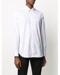 Chemise ajustée Byron Ann Demeulemeester pour homme en coloris White