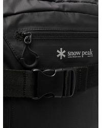 Snow Peak Rucksack mit Reißverschluss in Black für Herren