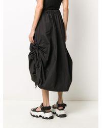 Andrea Ya'aqov ドローストリング スカート Black