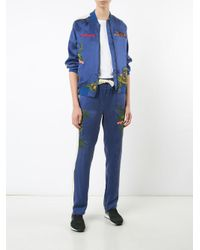 Maharishi - Blue Aube Track Pants - Lyst