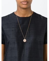 Astley Clarke | Blue Large 'icon' Diamond Pendant Necklace | Lyst