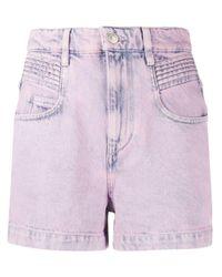 Pantalones vaqueros cortos Étoile Isabel Marant de color Pink