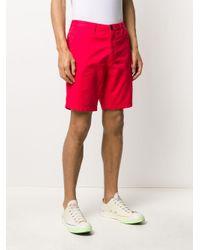PS by Paul Smith Klassische Chino-Shorts in Red für Herren