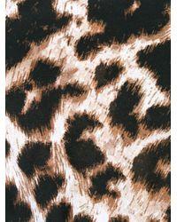 Maillot de bain à imprimé léopard Philipp Plein en coloris Black