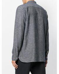 Universal Works - Blue Stoke Shirt for Men - Lyst