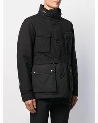 Piumino di Woolrich in Black da Uomo