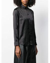 Camisa con botones Saint Laurent de color Black