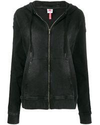 Sweat à capuche Omini Kappa en coloris Black