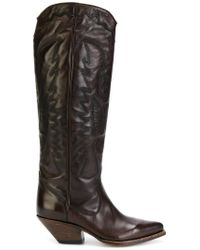 Buttero - Brown Cowboy Boots - Lyst