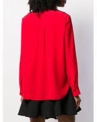 Блузка С Бантом Alexander McQueen, цвет: Red