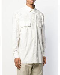 Camicia La Chemise Felix a fiori di Jacquemus in White da Uomo