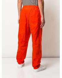 メンズ Casey Casey テーラードパンツ Orange