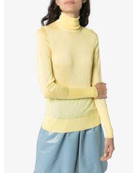 Maglione leggero di Victoria Beckham in Yellow