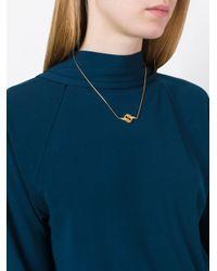 Lara Bohinc - Metallic 'stenmark Winged' Necklace - Lyst