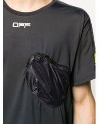 メンズ Off-White c/o Virgil Abloh チェストポケット Tシャツ Black