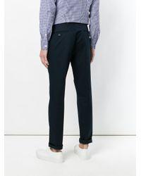 Prada Black Straight-leg Trousers for men