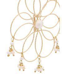 Rosantica - Metallic Cosmo Earrings - Lyst