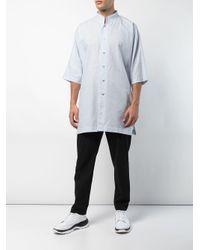 メンズ Homme Plissé Issey Miyake ショートスリーブ シャツ Multicolor