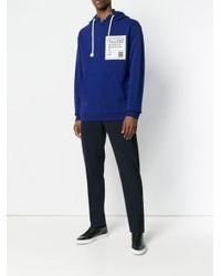 メンズ Maison Margiela Stereotype パーカー Blue